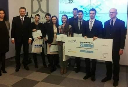 BVB i-a premiat pe castigatorii editiei a doua a concursului de tranzactionare Invest Quest
