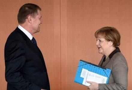 Angela Merkel, dupa intalnirea cu Klaus Iohannis: Vrem sa dezvoltam colaborarea economica; am discutat despre proiecte de mare importanta