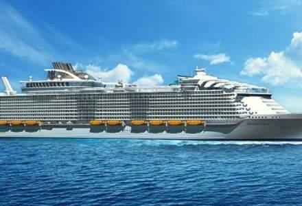 Cel mai mare vas de croaziera din lume intra in serviciu anul viitor
