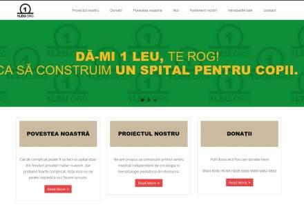 1leu.org sau cum vor 11 romani sa finanteze constructia unui spital