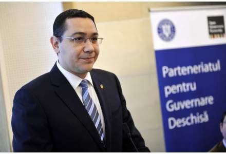 Victor Ponta propune la resedinta ambasadorului Italiei axa Roma-Washington. Gluma de complezenta sau gafa?