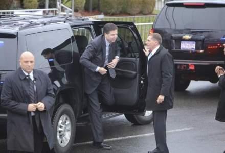 Directorul FBI este la Bucuresti, s-a intalnit cu Klaus Iohannis si Victor Ponta