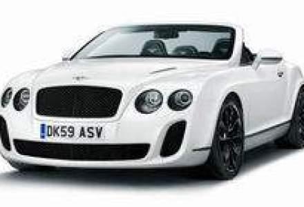 Cea mai noua decapotabila Bentley, disponibila la comanda in Romania
