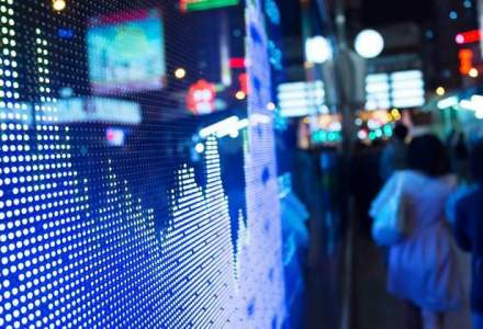 Bursa de la Bucuresti a inchis in scadere, pe un rulaj sustinut de tranzactiile deal
