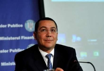 "Ponta: Proiectul noii Constitutii ar trebui sa fie ""teoretic"" finalizat intr-o saptamana"
