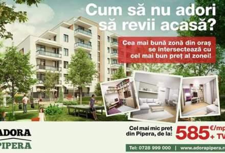(P) Adora Pipera a vandut in luna februarie apartamente in valoare de 550.000 Euro
