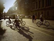Curieratul pe bicicleta...
