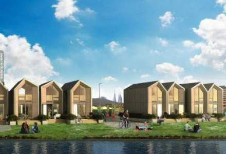 Casa care se construieste intr-o zi: cum arata proiectul Heijmans One