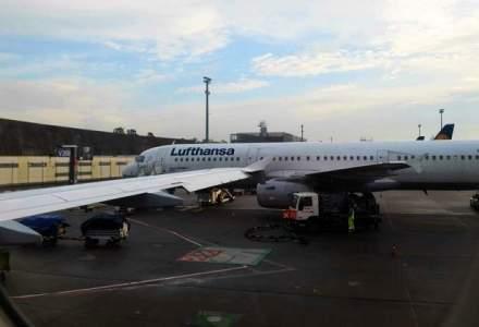 Lufthansa a anulat 750 de curse, din cauza unei greve a pilotilor