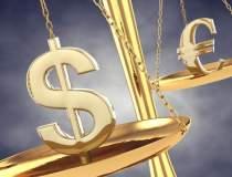 Euro a crescut, iar dolarul...