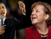 Obama si Merkel, PRO...