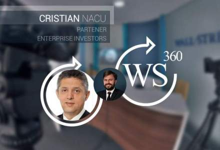 Cristian Nacu (partener Enterprise Investors) discuta in emisiunea WALL-STREET 360 despre antreprenorii romani