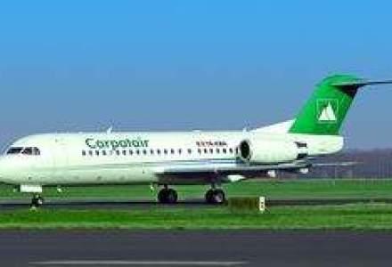 Carpatair introduce a doua aeronava Fokker 70