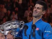 Novak Djokovici, castigatorul...