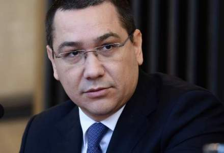 Ponta: Nu am vorbit deocamdata cu nimeni pentru functia de ministru la Finante, astept discutia cu Iohannis