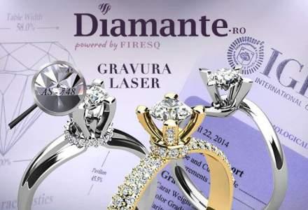 (P) Romania: Diamante certificate cu tehnologia folosita de FBI