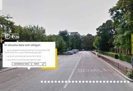 ACR lanseaza primele teste auto din lume, pe Google Street View