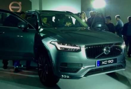 Volvo a lansat in Romania, noul SUV XC90. Pretul pleaca de la 55.000 euro cu TVA