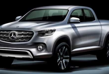 Mercedes-Benz va lansa primul pick-up premium de dimensiuni medii
