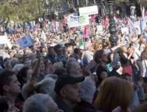 Protest la Budapesta: mii de...