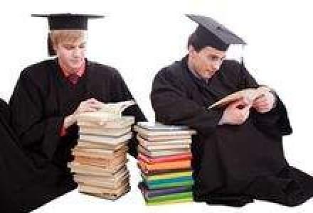 Cati dintre absolventii de facultate fac studii post-universitare?
