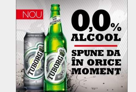 Tuborg lanseaza prima bere fara alcool