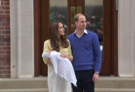 Fiica printului William si a ducesei de Cambridge se va numi Charlotte Elizabeth Diana