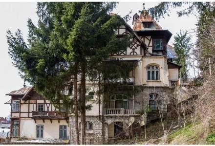 Vila din Sinaia in care Yehudi Menuhin a locuit in timpul lectiilor cu Enescu, la vanzare