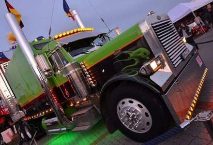 Cea mai mare expozitie de camioane din Sud-Estul Europei, in weekend in Bucuresti