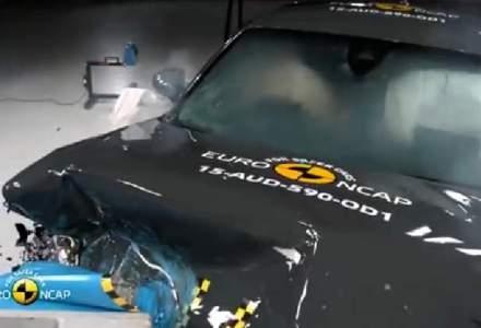 Euro NCAP a testat 7 masini noi. Un coupe premium german a primit 4 stele