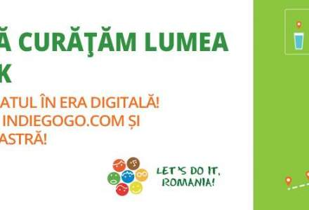 Prima campanie de crodfunding pentru ecologie din Romania: Let`s Do It, Romania! strange fonduri pe indiegogo.com