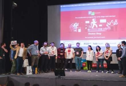 (P) 12 startup-uri cu potential si-au prezentat produsele pe scena MVP Academy Demo Day