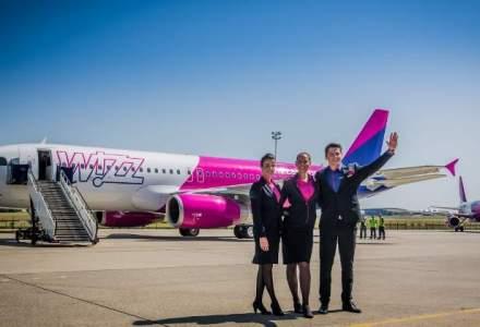 Wizz Air schimba imaginea vizuala dupa 11 ani. Un party in avion a celebrat noul livery