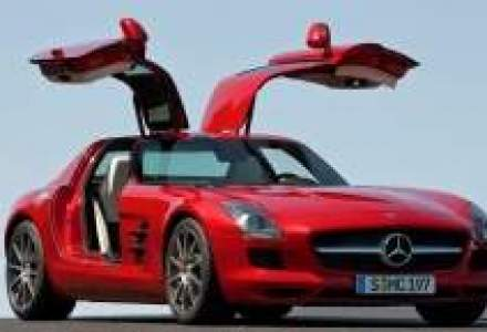 Mercedes-Benz SLS AMG coupe a fost lansat in Romania
