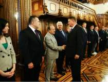 Iohannis, intalnire in...