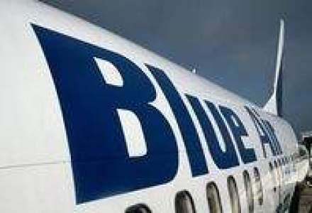 Blue Air a facut un zbor-test in zona contaminata si va efectua curse catre Italia, Spania si Cipru