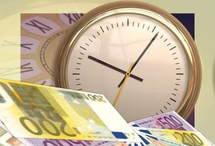 Crestere a excedentului bugetar: suntem pe plus cu 1,35 mld. euro