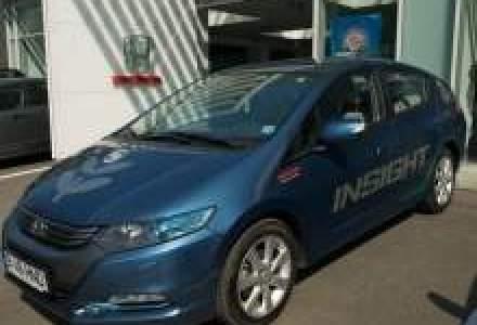 Garda Nationala de Mediu va testa hibrid-ul Honda Insight, 45 de zile