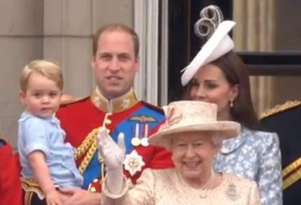 Aniversarea oficiala a Reginei Marii Britanii:Printul George, vedeta ceremoniei