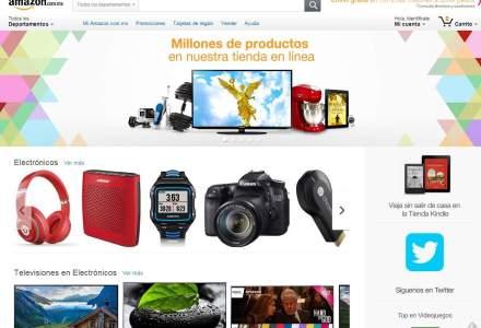 """Gigantul Amazon spune ,,Hola!"""" mexicanilor dupa deschiderea primului magazin online din America Latina"""