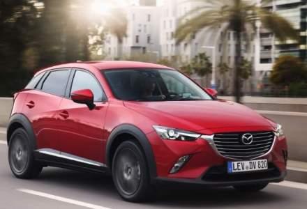 Vanzarile Mazda in Romania au crescut in primul semestru cu 20%