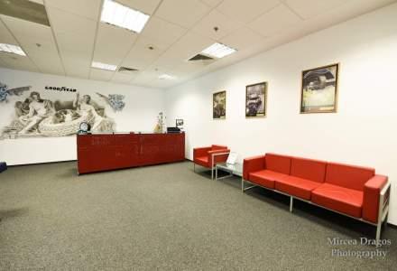 Un pit stop in biroul Goodyear: un sediu in care anvelopele sunt transformate in arta