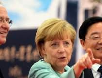 Angela Merkel, turneu in...