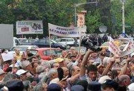 Circa 1.000 de membri Agrostar vor protesta in Capitala
