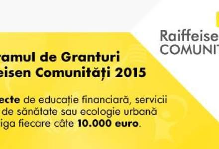 (P) Editia a cincea a Programului de Granturi Raiffeisen Comunitati