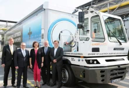 BMW ne prezinta primul sau camion, este electric