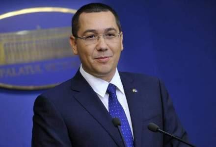 Ponta isi reia atributiile de premier dupa o absenta de aproape o luna