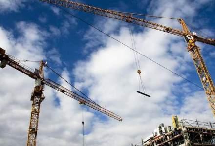 Lucrarile de constructii au consemnat un avans de 10,2% in primele cinci luni
