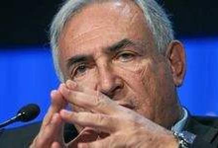 Ce spune Strauss-Kahn, seful FMI, despre riscul ca zona euro sa intre in colaps