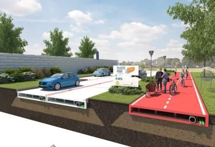 Soseaua viitorului? Olandezii vor realiza drumuri din sticle de plastic reciclate. Cum va fi posibil